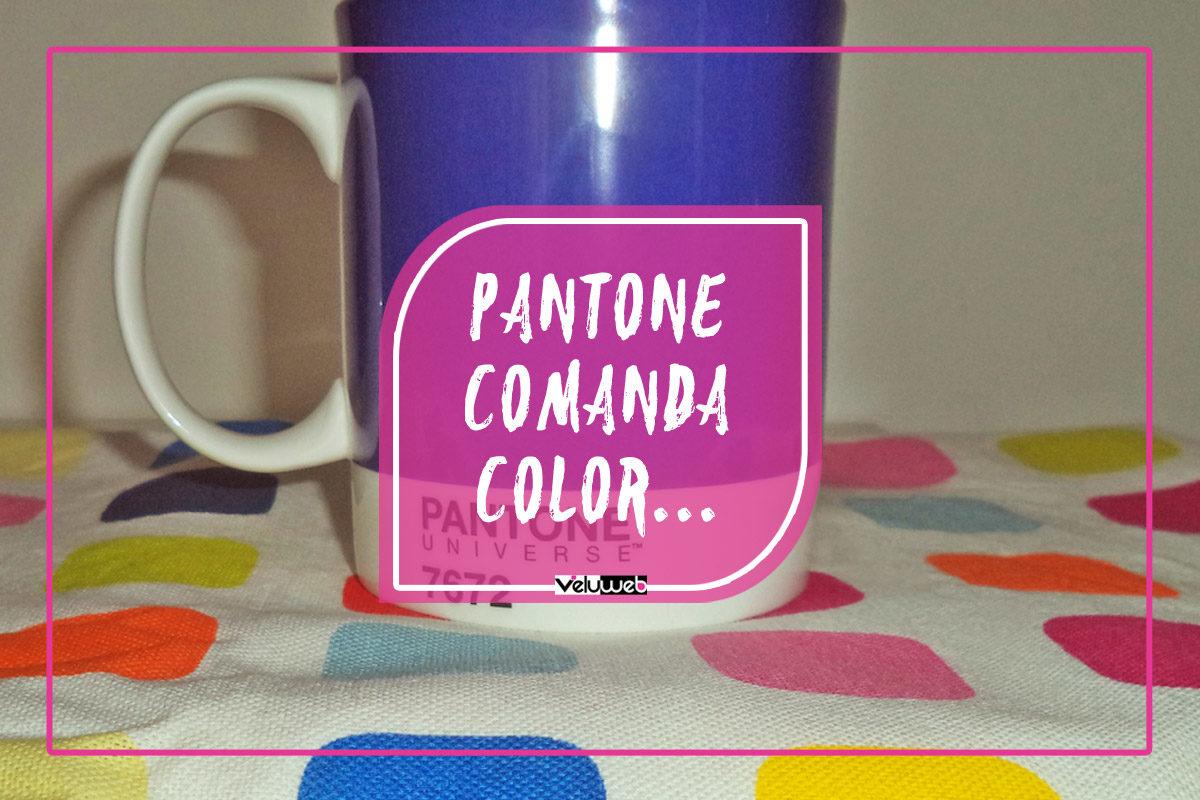 Pantone comanda color…